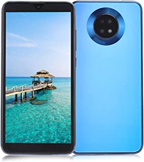 Dpofirs 6.1 Inch Dual Standby Screen Smartphone, 3 + 32g Dual Cards Four Core Smart Phone, 5 Points Touch Android 9.1 Dual...
