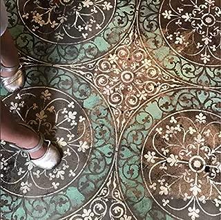 Best concrete floor stencil ideas Reviews