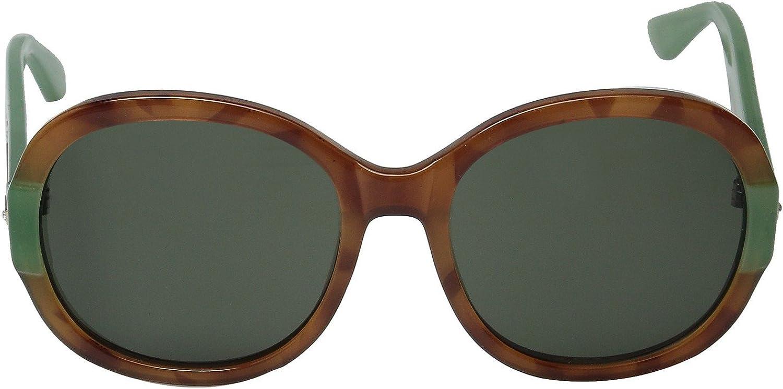 Ivanka Trump IT 037 Fashion Sunglasses (honey tortoise, green)