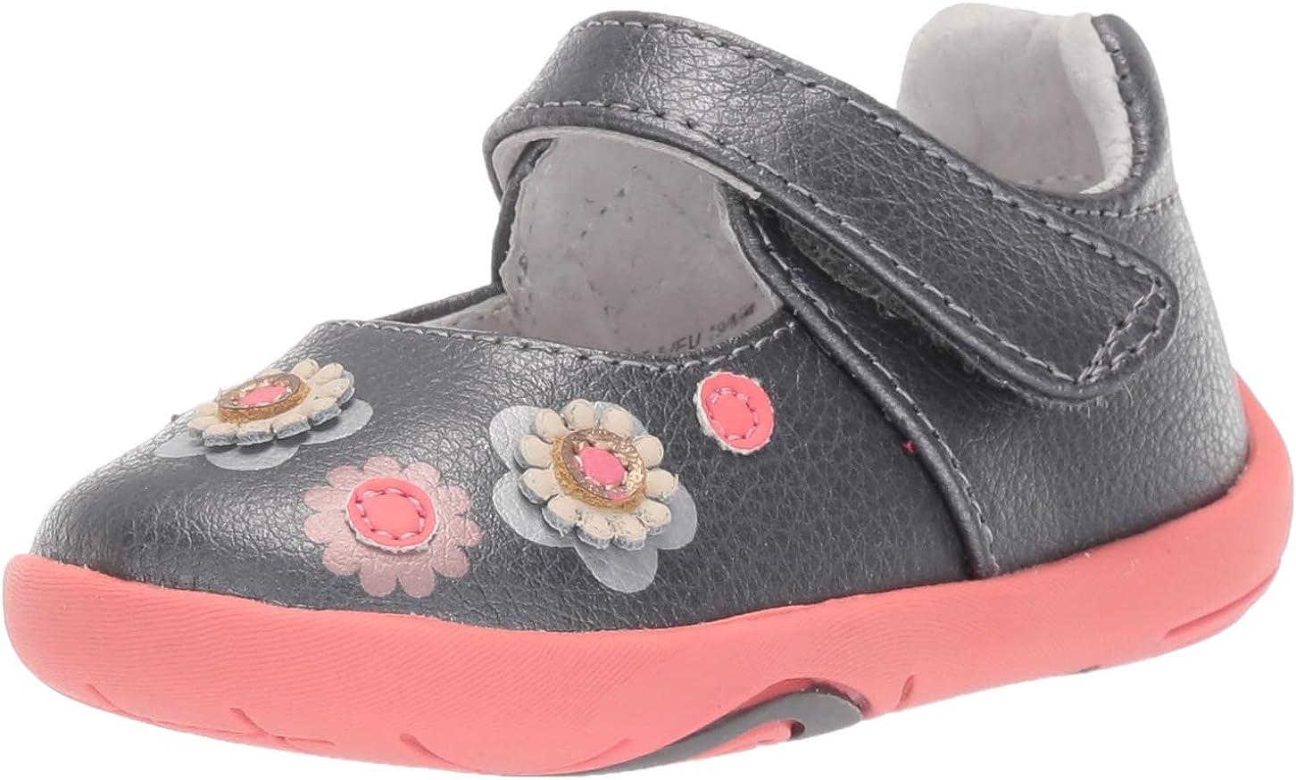 pediped Unisex-Child Flora First Walker Shoe