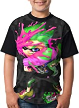 S-plat-oon-2 Top Teenager T-Shirt Short Shirts Printed Kids Youth