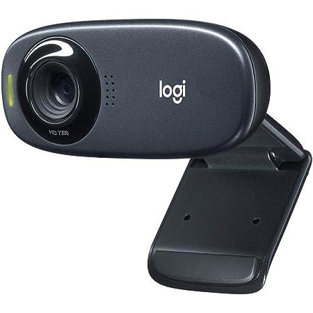 ロジクール ウェブカメラ C310n ブラック HD 720P ウェブカム ストリーミング 小型 ノイズリダクション 自動光補正 国内正規品 2年間メーカー保証