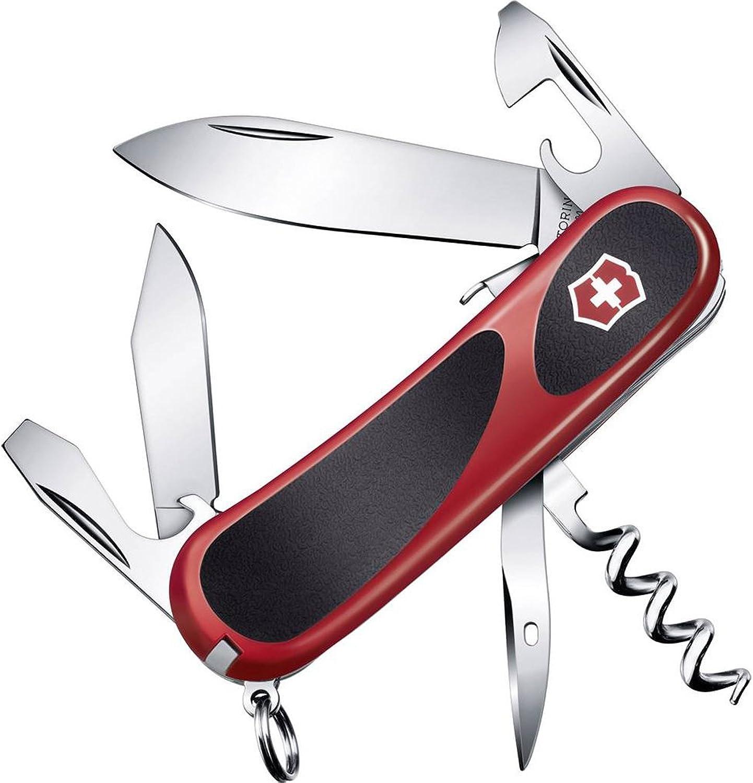 Victorinox Taschenmesser Evolution Evolution Evolution S101 (12 Funktionen, Feststellklinge) rot schwarz B00K3LHGVM | Hochwertig  43e62a