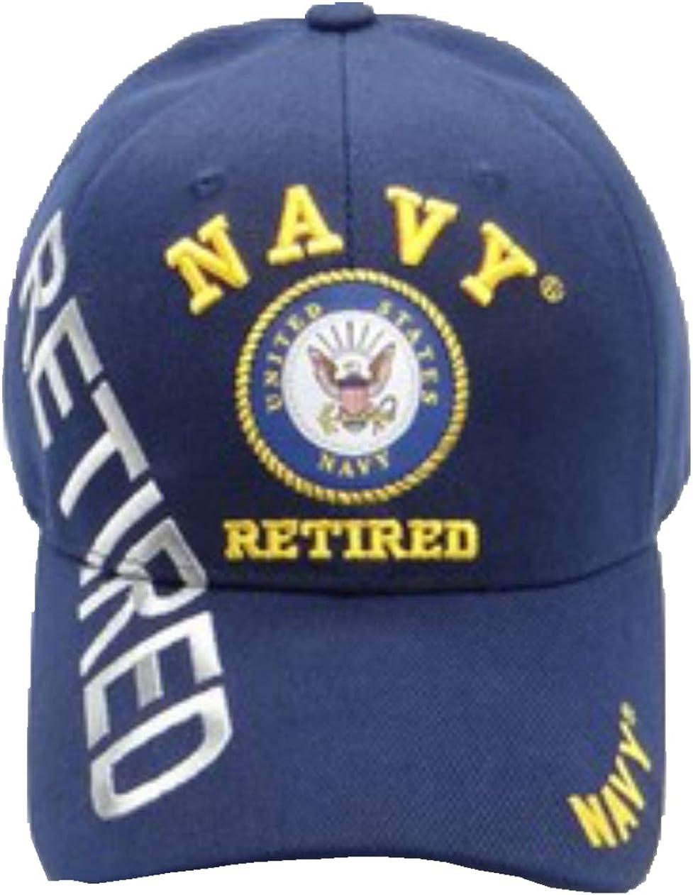 Navy Emblem Retired Retired Shadow Military Cap