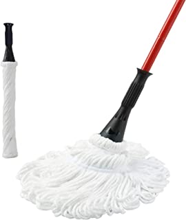 Sponsored Ad - Eyliden Microfiber Twist Mop 57.5 inch Long Handle Dust Mops for Floor Cleaning, Self Wringing Washing Mop ...