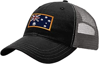Custom Trucker Hat Richardson Australia Embroidery City Name Cotton Snaps