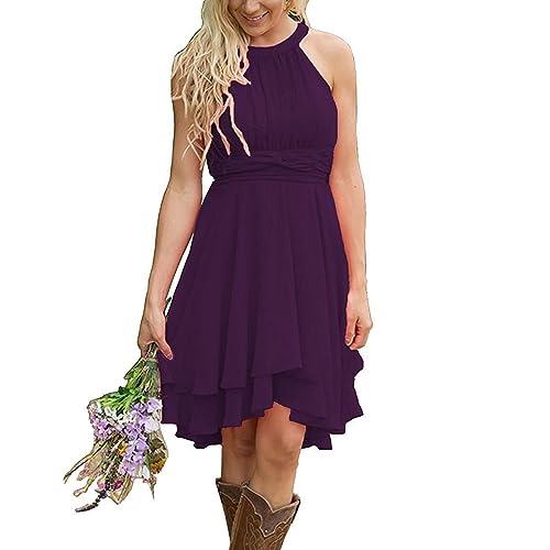 Purple Dresses for Weddings