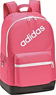 Adidas Backpack for Men - Polyester, Real Pink/White