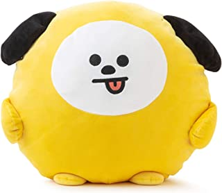 BT21 Official Merchandise by Line Friends - CHIMMY Character Pong Pong Cushion 11.8 Inches