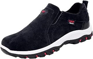 Alwayswin Wanderschuhe Herren Trekkingschuhe Outdoor Sneakers rutschfeste, Abriebfeste Turnschuhe Solid Casual Sportschuhe...