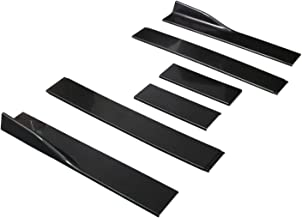 Aishun Dtouch Universal Black ABS Side Skirts Length 2.2M/86.6inch