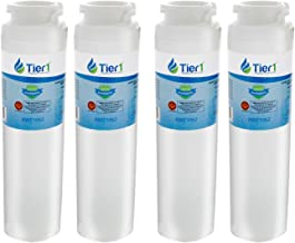 Tier1 Replacement for GE MSWF SmartWater, 101820A Refrigerator Water Filter 4 Pack