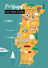 Portugal Kids Travel Journal: Diary for Children to Write In with Prompts ~ Log Book for Doodling, Drawing, Sketching & Writing, Small Lined Notebook