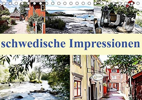 schwedische Impressionen (Tischkalender 2021 DIN A5 quer)