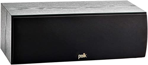 Polk Audio T30 100w Home Theater Center Channel Speaker | Hi-Res Audio with Deep Bass Response | Dolby and DTS Surrou...