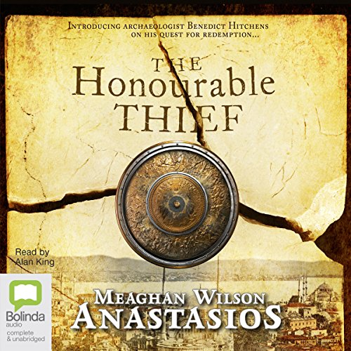 The Honourable Thief audiobook cover art