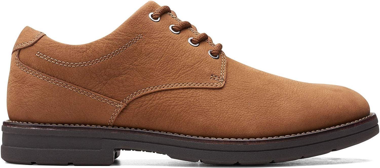 Clarks Mens Banning Plain Oxfords & Lace Ups Plain Toe Shoes