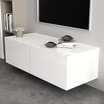 Zoternen - Mueble de Pared para TV, Mueble de Almacenamiento para Sala de Estar, Dormitorio, Muebles de hogar, 100 x 30 x 40 cm: Amazon.es: Hogar