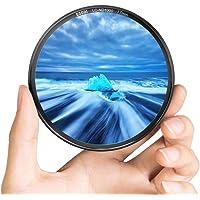 ESDDI 77mm ND 1000 Photo Filter with Dark Black Aluminum Frame Schott B270 Optical Glass