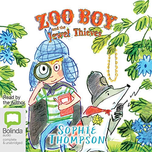 Couverture de Zoo Boy and the Jewel Thieves