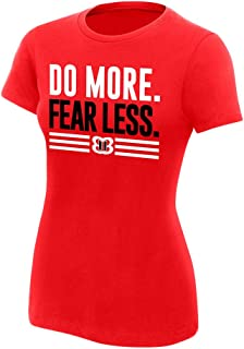 WWE Nikki Bella Do More, Fear Less Women's Authentic T-Shirt