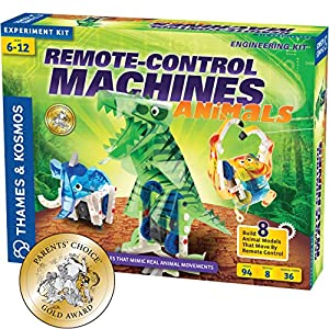 Thames & Kosmos Remote-Control Machines: Animals Science Kit - 61vbLU2GP8L - Thames & Kosmos Remote-Control Machines: Animals Science Kit