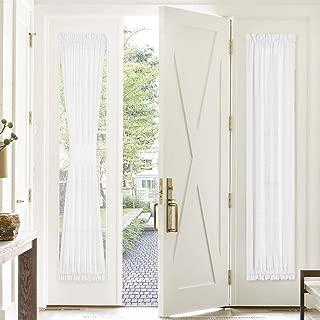 Best sheer door curtain Reviews