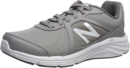 New Balance Wohommes 496v3 CUSH + Walking chaussures, gris, 9 2A US