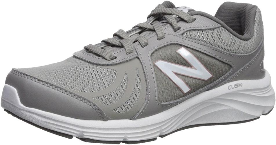nouveau   Wohommes 496v3 CUSH + en marchant chaussures, gris, 10 D US