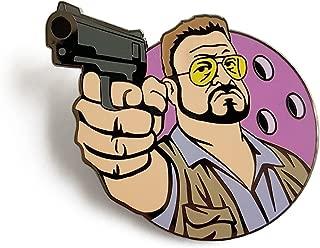 Angry Walter Enamel Lapel Pin