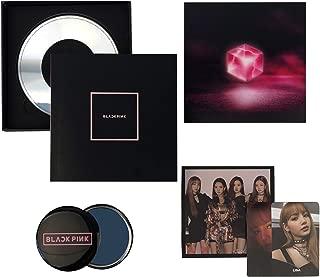 BLACKPINK 1st Mini Album - Square Up [ BLACK Ver. ] CD + Photo Book + Lyrics Book + Postcard + Photocard + FREE GIFT / K-POP Sealed.