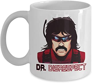 Dr Disrespect DRDISRESPECT Mug Funny Gaming Streamer Coffee Mugs Best Birthday Christmas Father's Day Gifts for men boy daddy