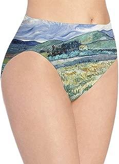 Adamitt Ropa Interior Estampada Sunset Lake Reflection para Mujer Braguitas Hipster Lindas para ni/ñas