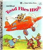Walt Disney's Toad Flies High (Little Golden Book) 0307010449 Book Cover