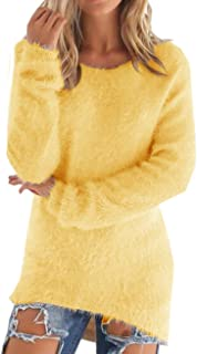 Best yellow fluffy sweater Reviews