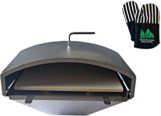 GMG Green Mountain Grill Wood Fired Pizza Oven + Free Oven Mitts