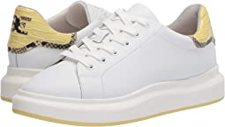 Bright White/Citron Haze New Air Action Leather/Kenya Croco