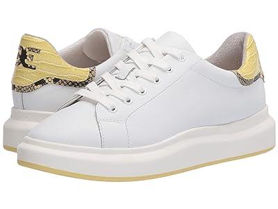 Sam Edelman Moxie (Bright White/Citron Haze New Air Action Leather/Kenya Croco) Women