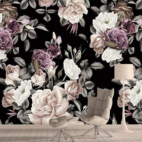 Nomte pioenrozen schillen en stikken bloemen 3D fotobehang behang behang wooncultuur behang voor woonkamer slaapkamer wandschilderijen rol 150x105cm