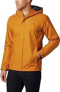 shiny nylon rain jacket