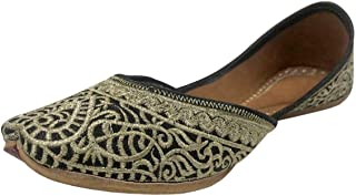 Stop n Style Punjabi Jutti for Ladies Jutti Shoes Punjabi Shoes Wedding Indian Shoes