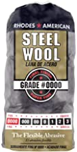 Homax Steel Wool, 12 pad, Grade #0000, Rhodes American, Final Finish