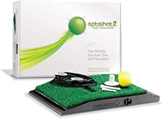OptiShot 2 Golf Simulator for Home with Net and Mat | Golf in A Box