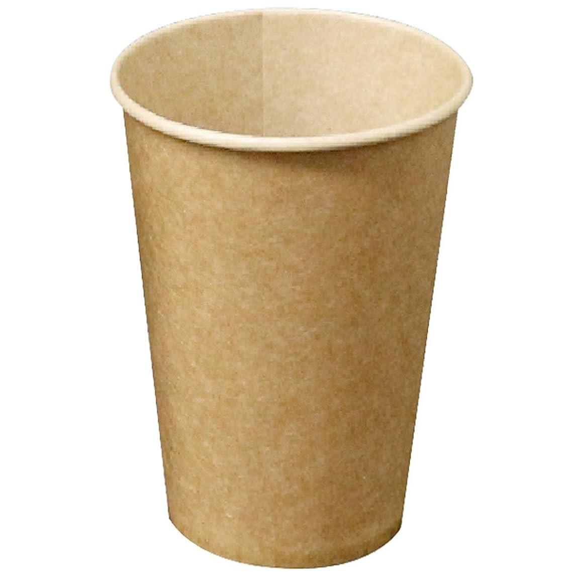 機転物語降下大黒工業 使い捨てカップ ブラウン 12オンス 360ml フレッシュメイト 50個 箱入 6403463