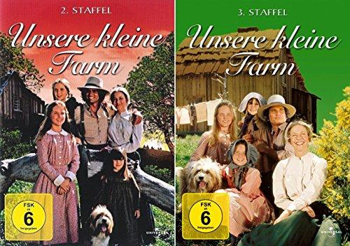 Unsere kleine Farm - Die komplette 2. + 3. Staffel (12-Disc / 2-Boxen)