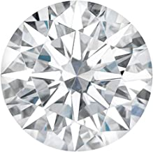 Charles & Colvard Forever One Colorless Round Hearts and Arrows Cut Moissanite Gemstone (D-E-F)