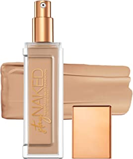 Urban Decay Stay Naked Weightless Liquid Foundation, 30NN - Buildable Coverage with No Caking - Matte Finish Lasts Up To 24 Hours - Waterproof & Sweatproof - 1.0 oz
