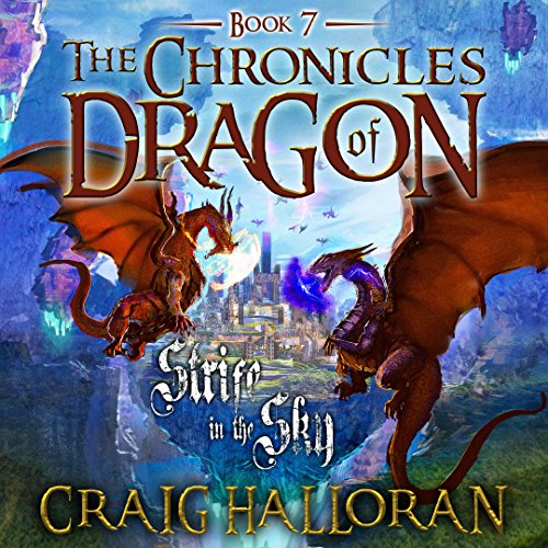 Strife in the Sky audiobook cover art