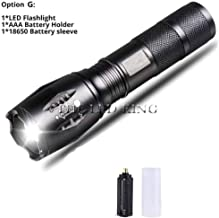 10000 lumens LED Rechargeable Flashlight XML T6 linterna Torch 18650 Battery Outdoor Camping Powerful Led Flashlight z30,P...