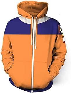 NSOKing Hot 3D Printed Naruto Coat Sweatshirts Kakashi Akatsuki Sasuke Sports Jacket Hoodie